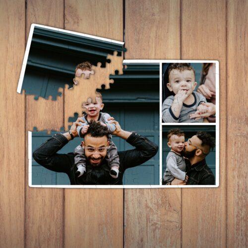 Puzzle personalizat magnetic, 3 poze